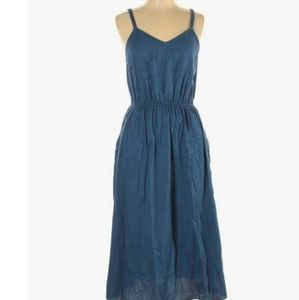 Universal threads casual blue dress